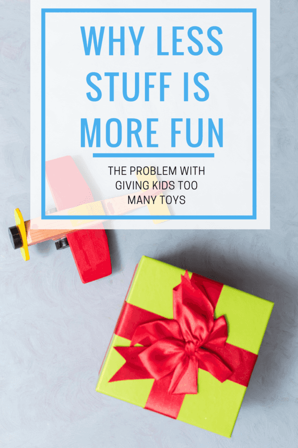 Why Less Stuff is More Fun