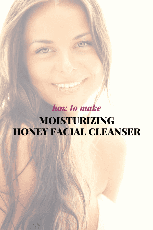 Replace your facial cleansers with your own DIY version - which includes using honey and a mixture of castile soap and Rosehip Oil.