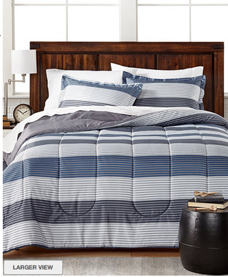 Macy's: 3 pc Bed in a Bag Comforter Sets $17.99