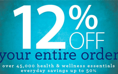 Vitacost: Rare 12% OFF your Entire Order (Vitamins, Supplements, Food + More)