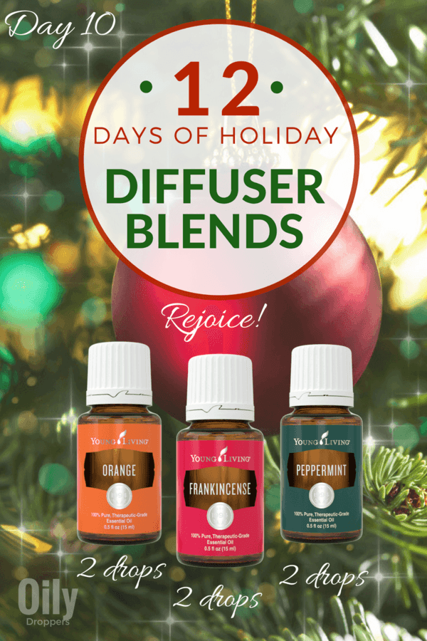 12 Days of Holiday Diffuser Blends (Rejoice)