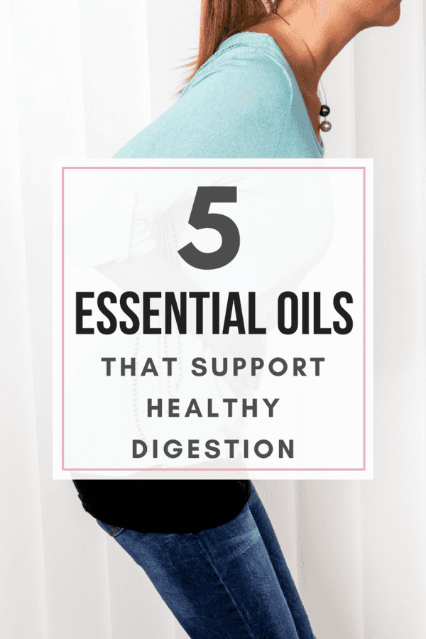Your digestive system is responsible for 80% of your immunity - so it's important to keep it in good health. Here are 5 Essential Oils that support healthy digestion.