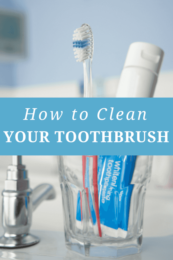 Your toothbrush might help keep your teeth clean, but it's also a breeding ground for a host of viruses and bacteria. Clean and sanitize it weekly to keep your immune system in tip top shape.