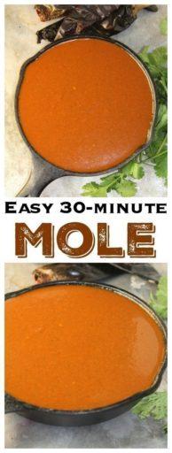 Easy 30-Minute Mole