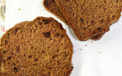 Moist and Delicious Pumpkin Bread with Date Paste
