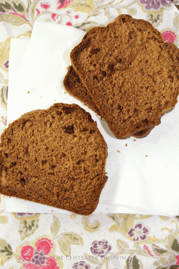 Moist and Delicious Healthy Pumpkin Bread