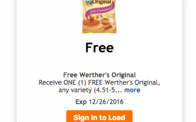 FREE Friday Download | Werther's Original Any Flavor