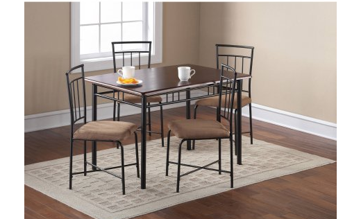 Walmart  Pc Dining Table Set With Chairs - Walmart dining room table