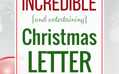 How to Write an Incredible and Entertaining Christmas Letter