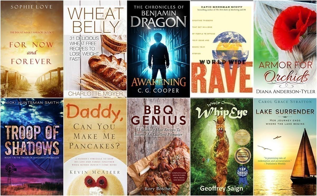 10 Free Kindle Books 1-13-17