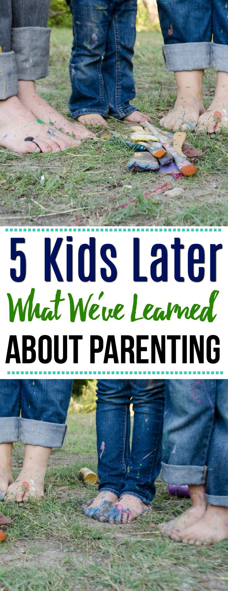 5 Kids Later: What We've Learned About Parenting