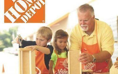Home Depot: Register to Make a Valentine's Photo Box