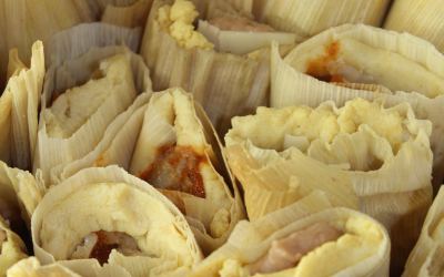Mexican Tamales in the Instant Pot