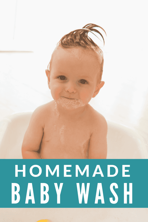 Hard to believe, but yet this is true: the government does not require safety testing on personal care products.  Scary - right?  Here's a great way to avoid buying those toxic items on shelf  - make your own homemade baby wash.