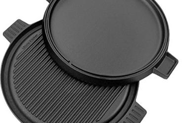 Amazon: Cast Iron Reversible Griddle Pizza Pan 12″ just $13