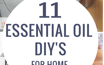 11 Essential Oil DIYs for Home and Garden