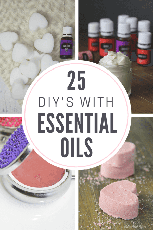 25 DIYs with essential oils