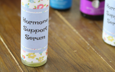 Hormone Support Serum with Essential Oils