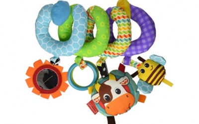Amazon: Infantino Spiral Activity Toy 50% OFF