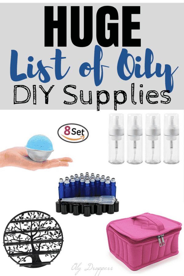 Starting to use Essential Oils can be overwhelming - take some of the load off with this list of DIY Essential Oil supplies. We have rounded up everything you will need to make lip balm, lip gloss, deodorant & more. Also capture 25 DIY Essential Oil recipes, too!
