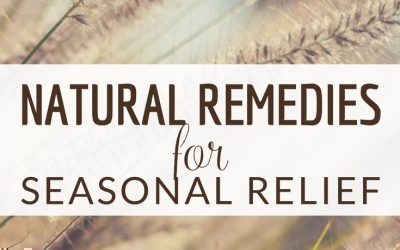 Natural Remedies for Seasonal Relief