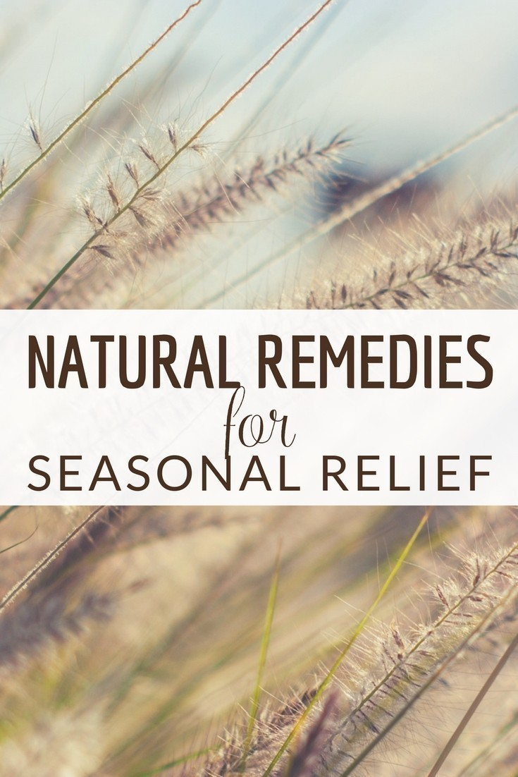 Ditch the over the counter medicines and prescriptions and find natural ways to cope with seasonal changes.