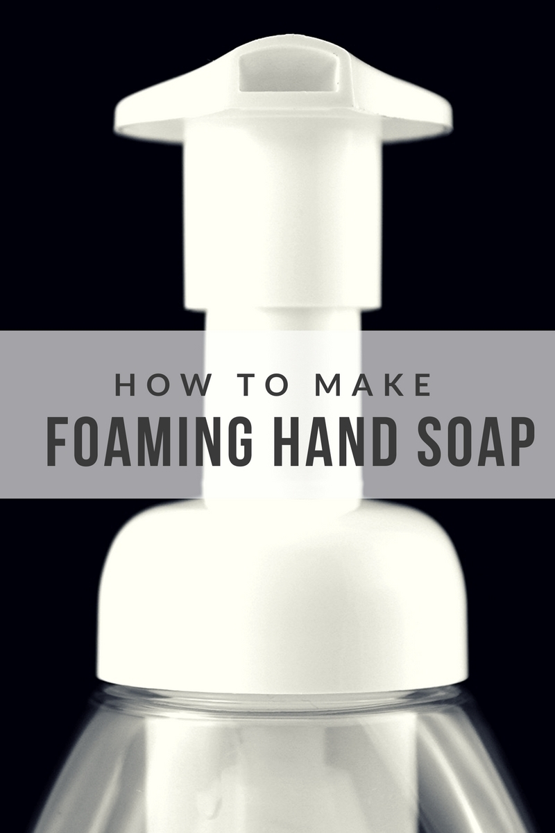The majority of hand soap varieties today have Triclosan - a synthetic pesticide that is also a pollutant. It breaks down the environment into chemicals including a form of dioxin (a carcinogenic chloroform). It's linked to hormone disruption, cancer, liver damage & more. Learn how you can make your own easy and effective foaming hand soap.