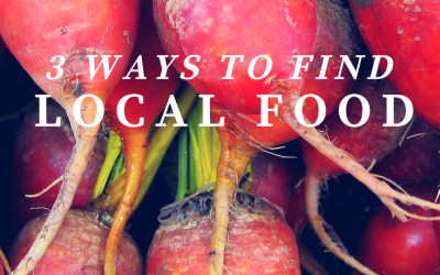 3 Ways to Find Local Food