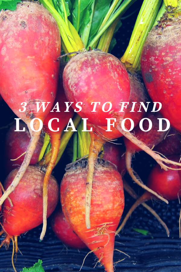 What does Local mean to you? Does it mean in your city? Or, in your state? Does it mean sustainable and organic? Here are 3 ways to find local food in your area.