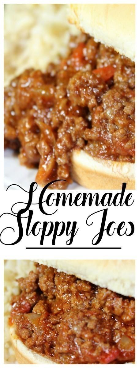 The best homemade Instant Pot Sloppy Joe recipe you'll ever find! #InstantPot #SloppyJoes #homemade