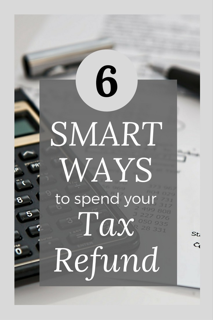 Tax season is here!  Don't miss these smart ways to spend your tax refund to help you set your finances and family up for success.