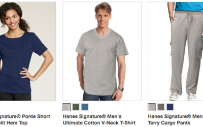 Hanes Clearance Sale: Up to 75% OFF + FREE Shipping