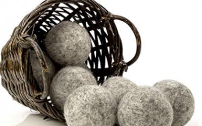 Amazon: Dark Wool Dryer Balls, 8-Pack