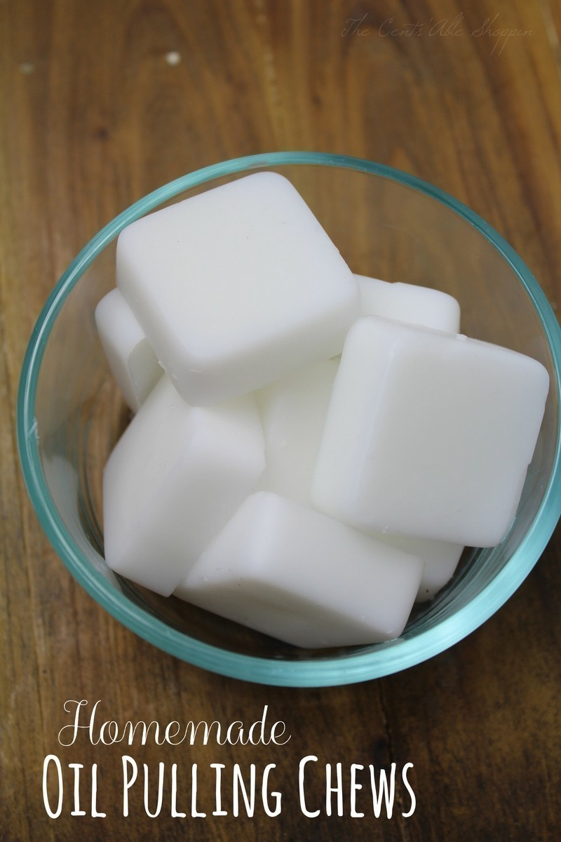 Homemade Oil Pulling Chews