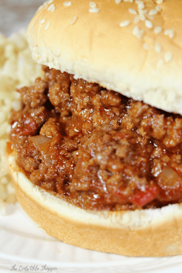 Ditch the additives and high fructose corn syrup in canned sloppy joe sauce and make your own - it's incredibly easy and can be made in the Instant Pot or the stove top!