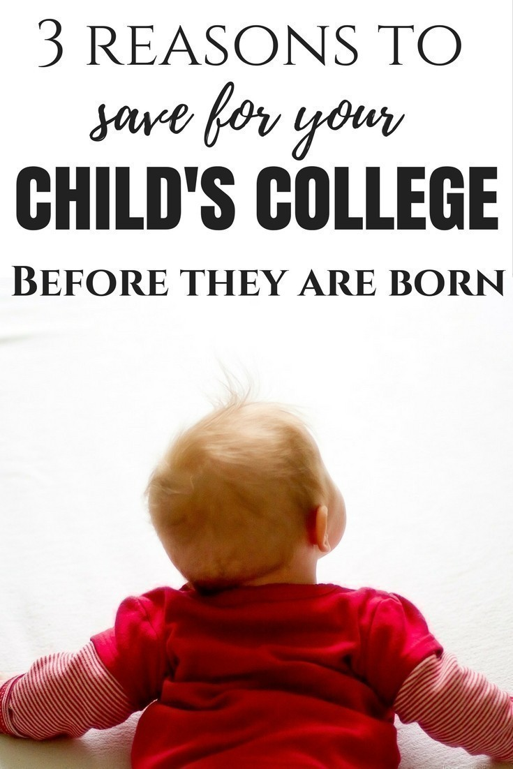 3 Reasons to Save for your Child's College Before they are Born