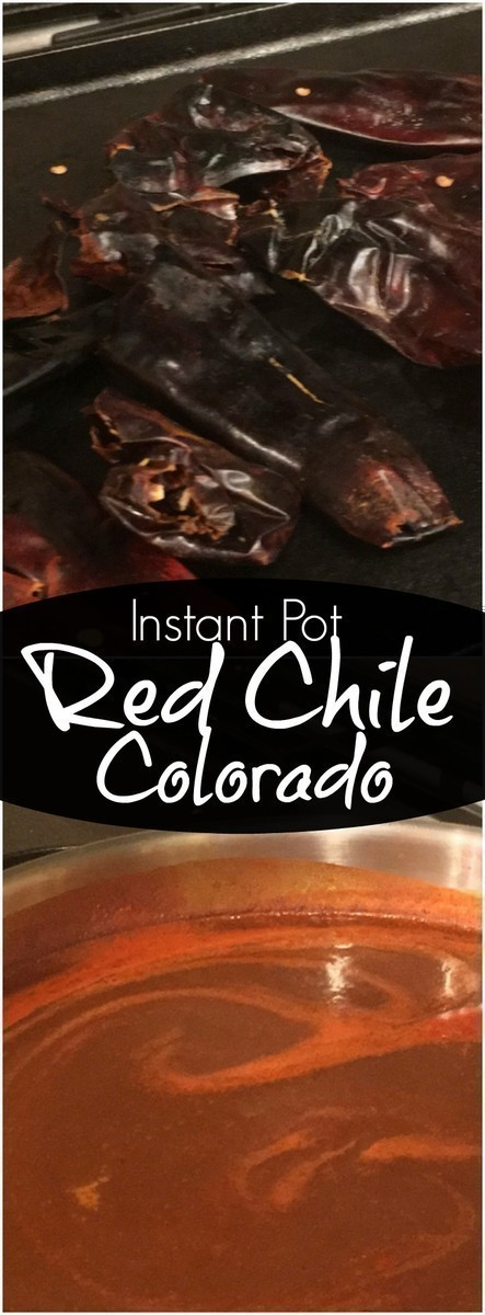This Red Chile Colorado is super easy to make in the Instant Pot and is excellent used with enchiladas, burritos, and even drizzled over tamales.