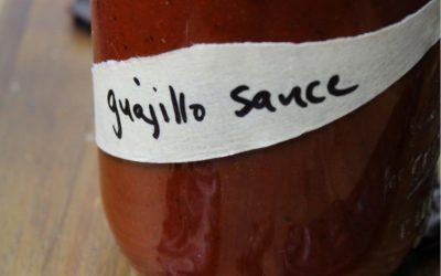 Guajillo Chile Sauce
