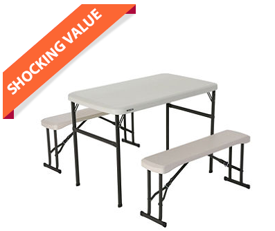 Remarkable Lifetime Recreation Sport Table Set Just 63 Free Shipping Pabps2019 Chair Design Images Pabps2019Com