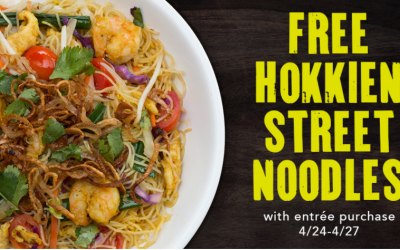 PF Chang's: FREE Hokkien Street Noodles with Purchase