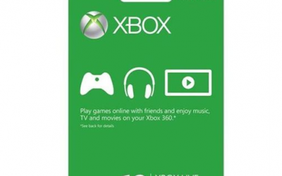 XBOX Live 12 month Membership $39.99