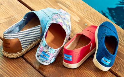 Zulily:  Toms Shoes just 40% OFF
