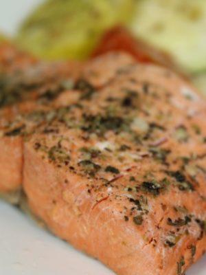 Instant Pot Wild Alaskan Sockeye Salmon