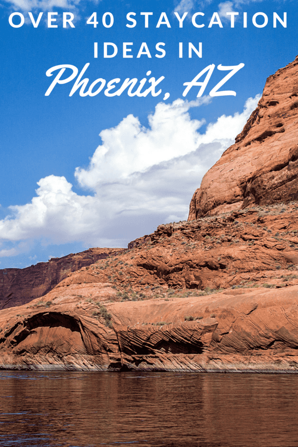 Enjoy the Phoenix area without breaking the bank! Check out this list of over 40 staycation ideas in Phoenix that you can do with the family.