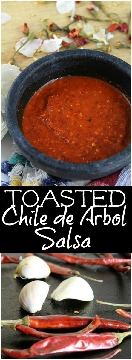 A spicy salsa made in less than 5 minutes with just a few simple ingredients.