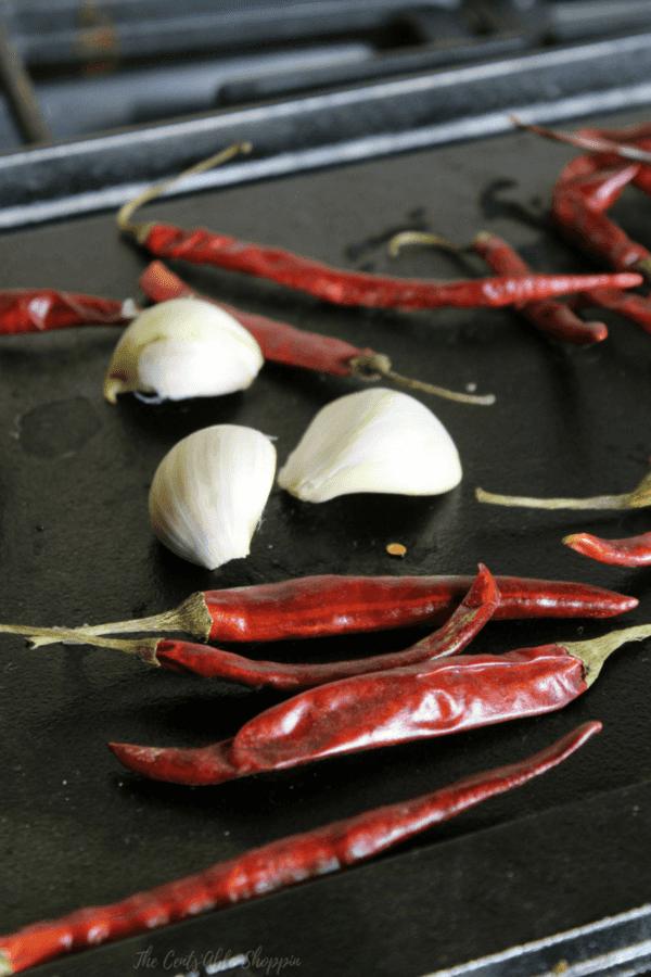 Toasted  Chile de Arbol salsa