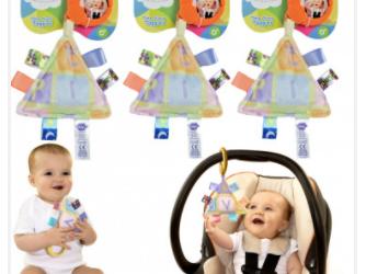 3 pk Interactive Sensory Baby Travel Toys $10 + FREE Ship