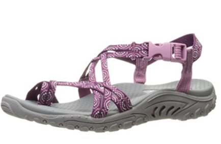 6508d8724698 Amazon  Women s Skechers Sandals as low as  21.99 – The CentsAble ...