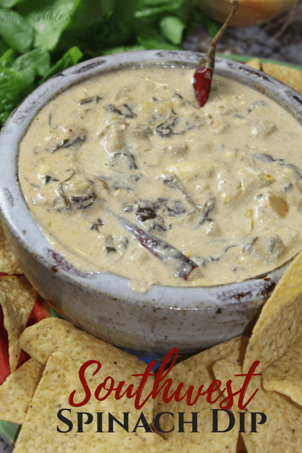 Take a twist on the traditional Spinach Dip in the Instant Pot and kick it up a notch ~ with the addition of a few simple flavors, you can turn that Spinach Dip into Spicy Southwest Spinach Dip, and serve it at your next party or get together.