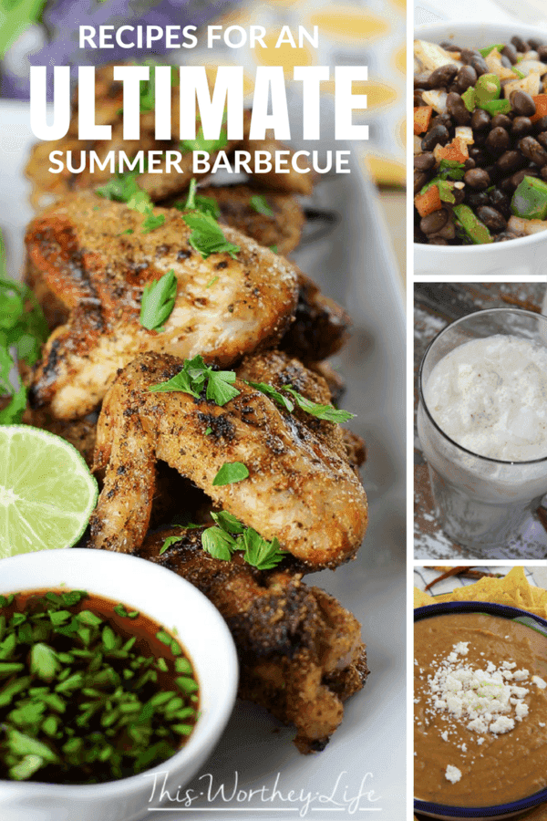 Host an incredible summer barbecue with over 30 incredible recipes for the grill, sides, cocktails, and more!